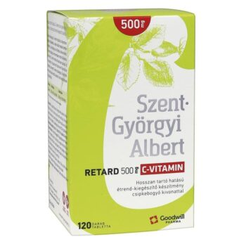Goodwill Szent-Györgyi Albert Retard C-vitamin 500mg tabletta - 120db