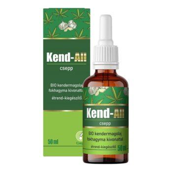 Green Blood Kend-All BIO kendermagolaj fokhagyma kivonattal étrend-kiegészítő csepp - 50ml