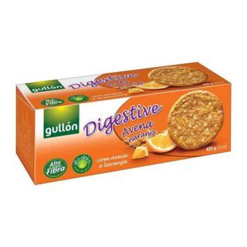 Gullón Digestiv zabpelyhes narancsos keksz - 425g