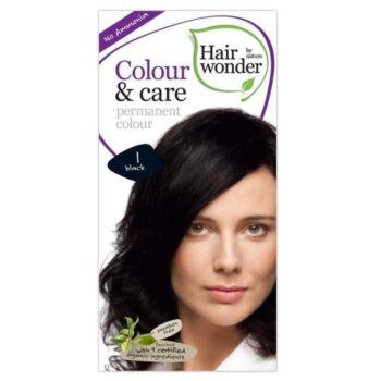 Hairwonder colour&care 1 fekete hajfesték -