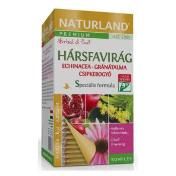 Naturland hársfavirág-echinacea-gránátalma tea - 20 filter