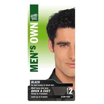 Hennaplus férfi fekete hajfesték -