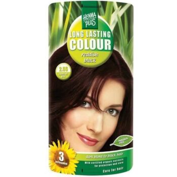 Hennaplus 2.66 rőtfekete hajfesték -