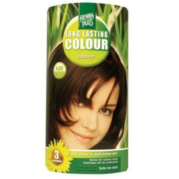 Hennaplus 4.56 gesztenye barna hajfesték -