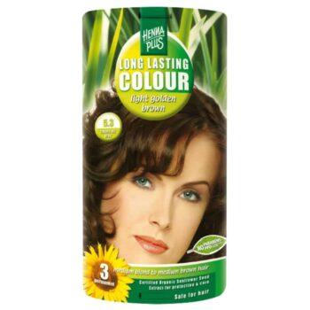Hennaplus 5.3 világos aranybarna hajfesték -