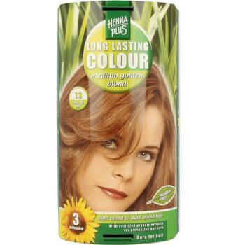 Hennaplus 7.3 közép aranyszőke hajfesték -