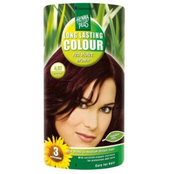 Hennaplus 4.67 lilásbarna hajfesték -