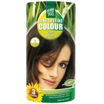 Hennaplus 5 világos barna hajfesték -