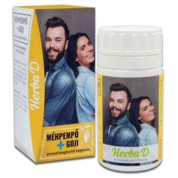 Herba-D Méhpempő + Goji kapszula - 60db