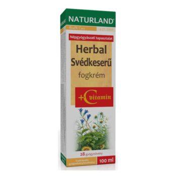 Naturland Herbal Svédkeserű + C-vitamin fogkrém - 100 ml