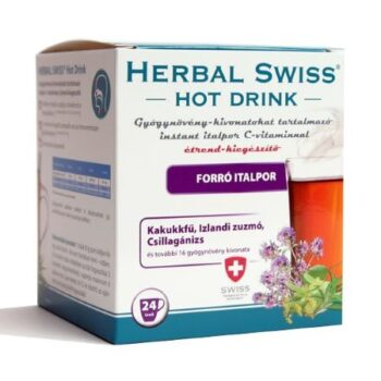 Herbal Swiss Hot Drink Instant forró italpor - 24db