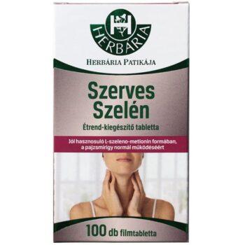 Herbária Szerves szelén tabletta - 100db