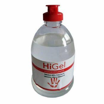 HiGel kézfertőtlenítő gél - 300ml