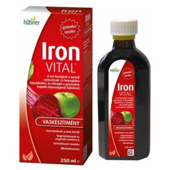 Hübner Iron Vital szirup - 250 ml