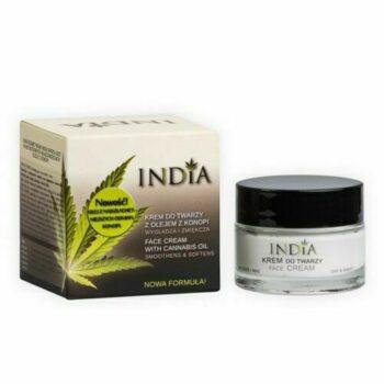 India Arckrém kendermagolajjal - 50ml