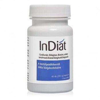InDiat - testsúly csökkentést elősegítő kapszula - 60db