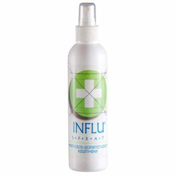 Influ mentolos légfertőtlenítő spray alkohol tartalommal – 200ml