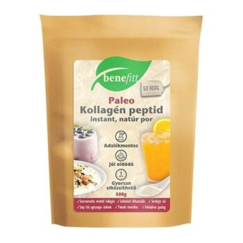 Interherb Benefitt Reform kollagén peptid natúr italpor - 300g