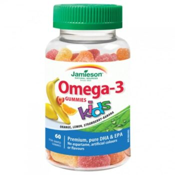 Jamieson Omega-3 Kids Gummies gumicukor gyerekeknek - 60db