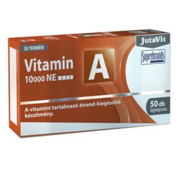 JutaVit A-vitamin lágyzselatin kapszula - 50db