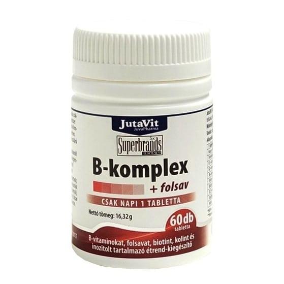Jutavit B-komplex vitamin tabletta - 60db