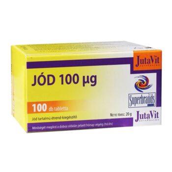Jutavit jód tabletta - 100db