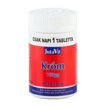 Jutavit Króm tabletta - 60db