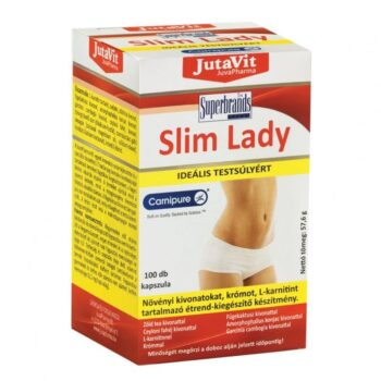 Jutavit Slim Lady Fat Burner kapszula - 100db