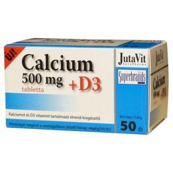 Jutavit Calcium+D3-vitamin tabletta - 50db