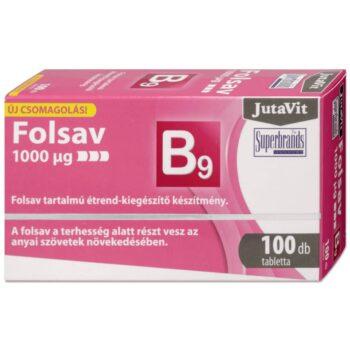 Jutavit folsav tabletta - 100db