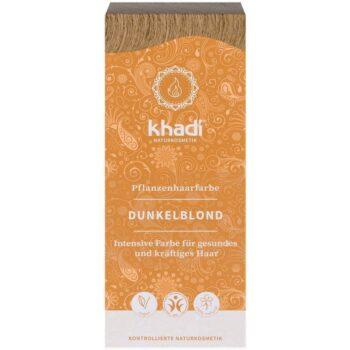 Khadi Növényi hajfesték - sötétszőke - 100g