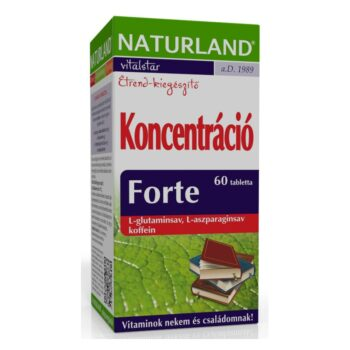 Naturland koncentráció forte tabletta - 60db