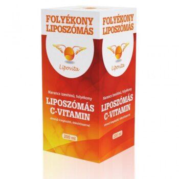 Lipovita Folyékony Liposzómás C-vitamin - 200ml