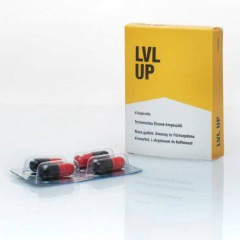 LVL UP potencianövelő kapszula - 4db