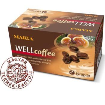 MAKKA WELLcoffee Ganoderma instant kávé - 30 tasak
