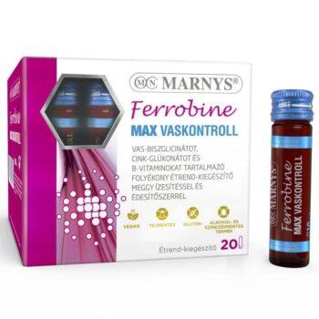 Marnys Ferrobine max vaskontroll ivóampulla - 20db