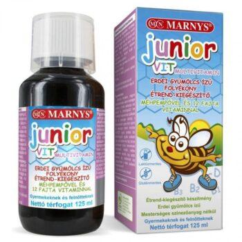 Marnys Junior VIT multivitamin erdei gyümölcsös - 125ml
