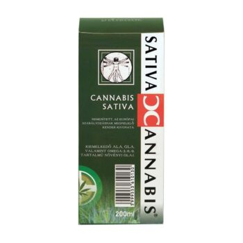 Cannabis Sativa Cannabionid Oil (Medicannabis olaj) - 200ml