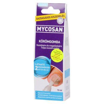 Mycosan körömgomba elleni ecsetelő - 10ml