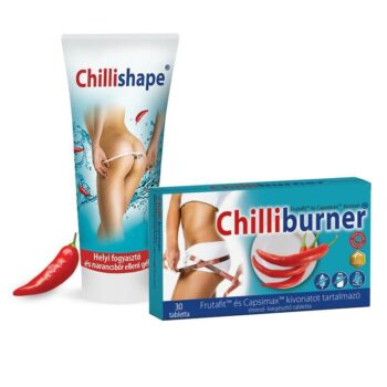Natur Tanya Chilliburner tabletta 30db + Chillishape gél 200ml -