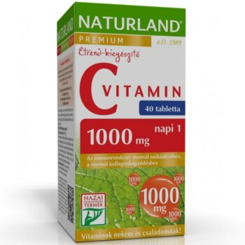 Naturland C-vitamin tabletta - 40db