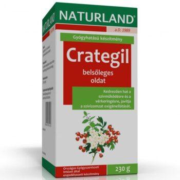 Naturland Crategil - keringés támogató belsőleges oldat - 230g