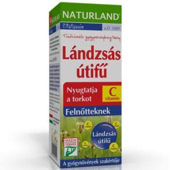 Naturland Lándzsás útifű szirup + C-vitamin felnőtt - 150ml