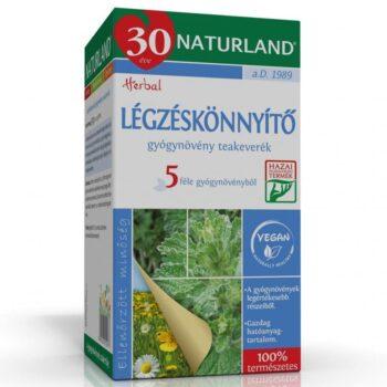 Naturland Légzéskönnyítő tea - 20 filter