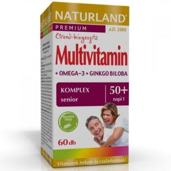 Naturland Multivitamin 50+ lágyzselatin kapszula - 60db