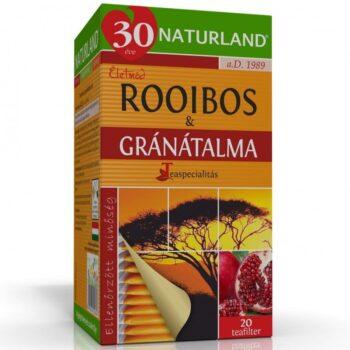 Naturland Rooibos-Gránátalma tea - 20 filter