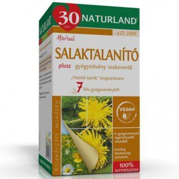 Naturland Salaktalanító Plusz teakeverék - 20 filter