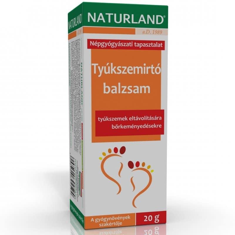 Naturland tyúkszemirtó balzsam - 20g