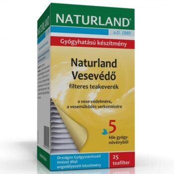 Naturland Vesevédő teakeverék - 25 filter
