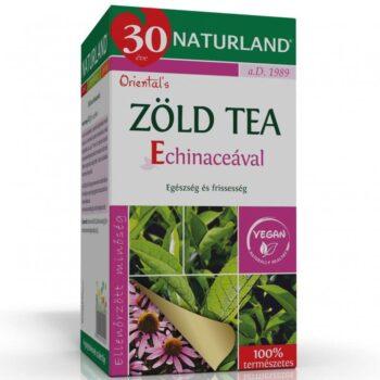 Naturland Zöld tea echinaceával - 20 filter